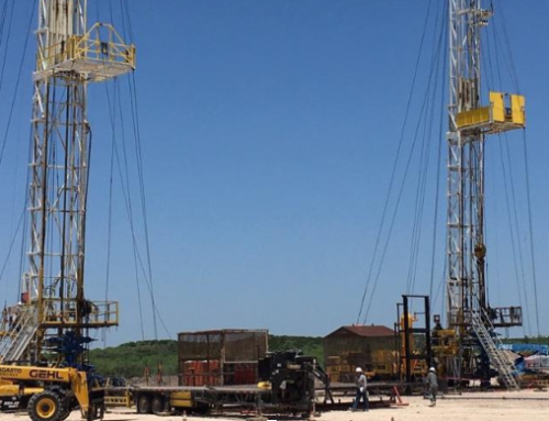 Ranger Energy Services' rigs performing simultaneous production operations in South Texas.