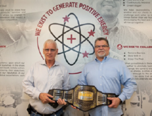 HSE Team Receives Q1 2021 Positive Energy Belt Award