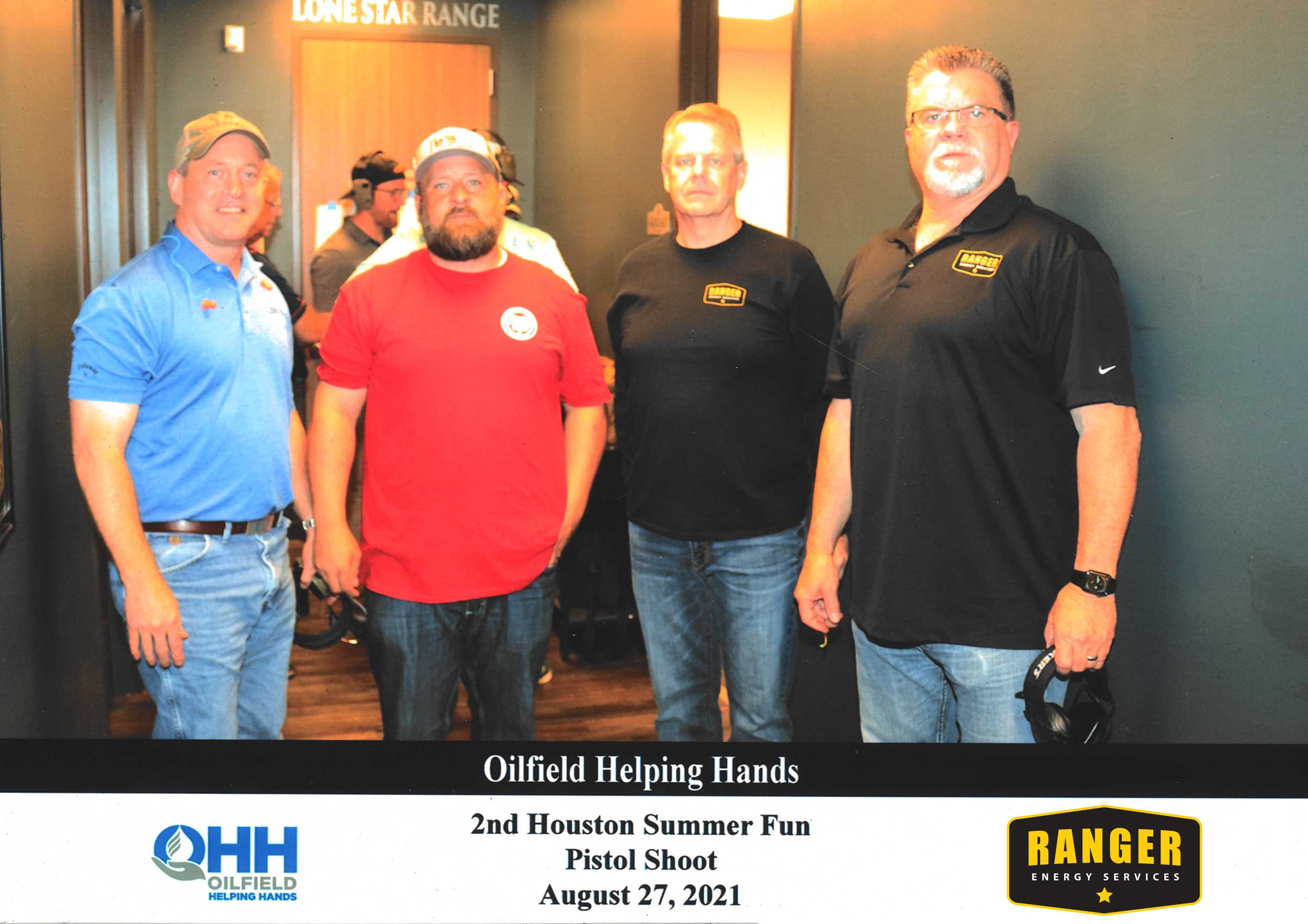 Ranger Employees participating at OHH 2021 Pistol Shoot